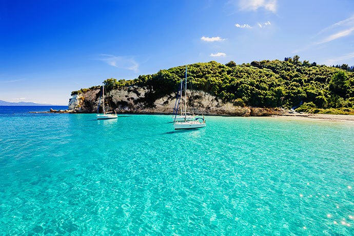 Yacht charter in Greece 1