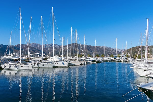 Yacht charter in Tivat 1