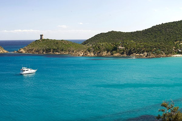 Yacht charter in Corsica 1