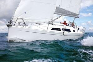 Segelboot - Hanse 415