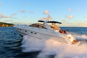Motorboot-Princess V55