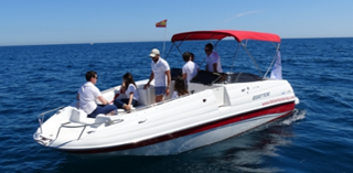 Barco a Motor-Ebbtide 2400 fun cruiser