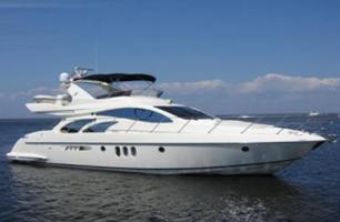 Barco a Motor-Azimut 55 Fly