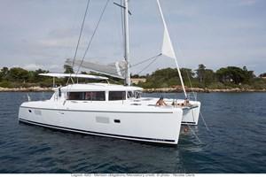 Catamarán-Lagoon 420