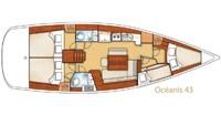 - Oceanis 43/4 CBS 2009