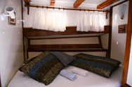 Interior of a yacht charter in Marmaris 3