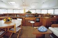 Interior of a yacht charter in Tarragona 1