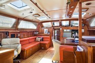 Interior of a yacht charter in Agropoli 1