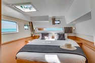 Interior of a yacht charter in Punta Ala 3