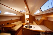 Interior of a yacht charter in Sardinia 1