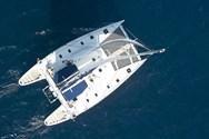Exterior of a yacht charter Tarragona 2