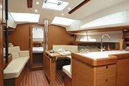 Interior of a yacht charter in Montenegro 1