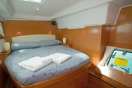 Interior of a yacht charter in Menorca 3