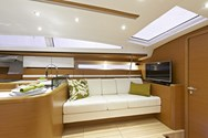 Interior of a yacht charter in Spain 2