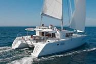 Exterior of a yacht charter Lanzarote 2