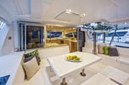 Interior of a yacht charter in Altea 1