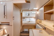 Interior of a yacht charter in The Maldives 3