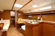 Interior of a yacht charter in Croatia 1