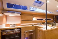 Interior of a yacht charter in France 2