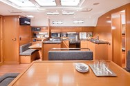 Interior of a yacht charter in Corsica 2