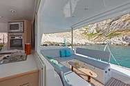 Interior of a yacht charter in Formentera 2