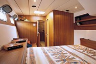 Interior of a yacht charter in Tarragona 2