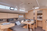 Interior of a yacht charter in