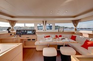 Interior of a yacht charter in Lanzarote 1