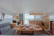 Interior of a yacht charter in Vigo 1