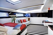 Interior of a yacht charter in the Azores 3