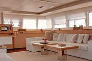 Interior of a yacht charter in Greece 2