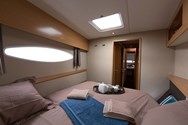 Interior of a yacht charter in Canary Islands 3