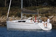 Exterior of a yacht charter in Sardinia 2