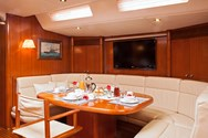 Interior of a yacht charter in Lavrion 2
