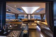 Interior of a yacht charter in Canary Islands 1