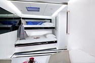 Interior of a yacht charter in the Azores 1