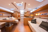Interior of a yacht charter in France 1