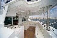 Interior of a yacht charter in Balearic Islands 1