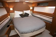 Interior of a yacht charter in Paros 3