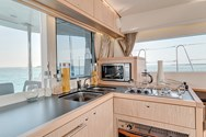 Interior of a yacht charter in The Maldives 1