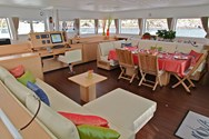 Interior of a yacht charter in Didim 1
