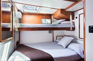 Interior of a yacht charter in Agropoli 2