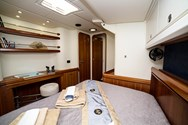 Interior of a yacht charter in Alicante 2