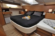 Interior of a yacht charter in Mykonos 1