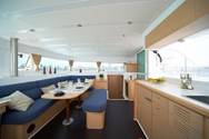 Interior of a yacht charter in Skiathos 3