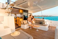 Interior of a yacht charter in Punta Ala 1