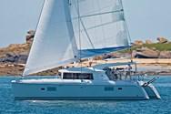 Exterior of a yacht charter Vigo 1