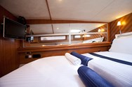 Interior of a yacht charter in Biograd 2