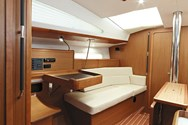 Interior of a yacht charter in Montenegro 2