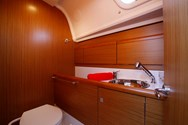 Interior of a yacht charter in Sardinia 3